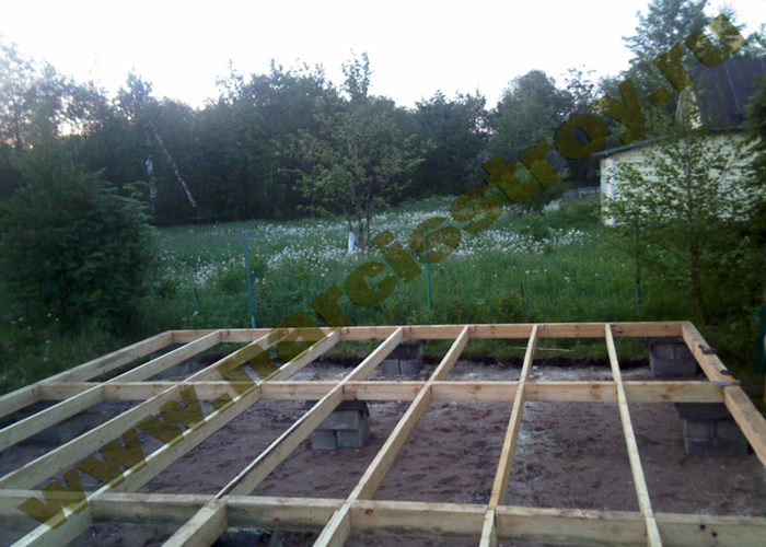 Теплые полы в деревянном доме своими руками