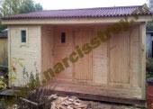 Одноэтажный дачный дом6х4