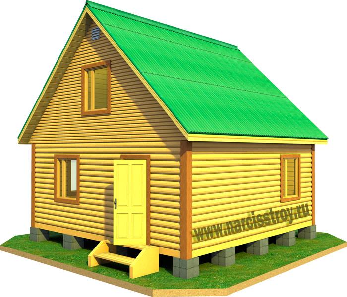 Строительство загородных домов под ключ - Строительство