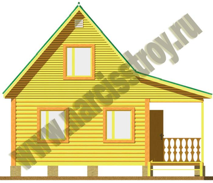 Дома и Бани из Бруса под ключ или усадку по отличной цене