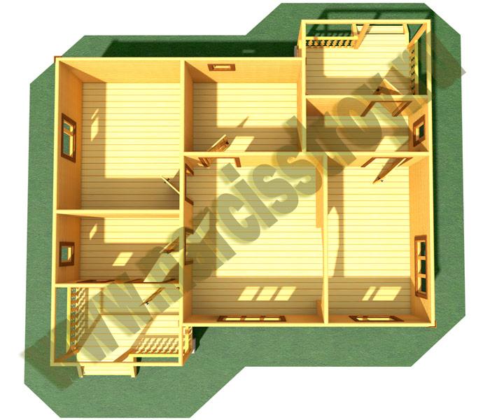 3-d схема строения