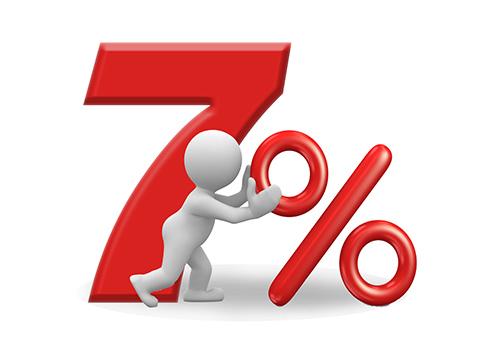 7% на весь товар!!!